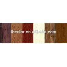 Pulverbeschichtung Farbe Holz Textur