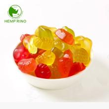 White label sugar free CBD multivitamin gummy pectin 100% vegan cbd candy with hemp terpens Remaining