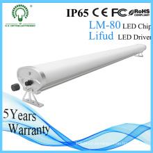 2800-6500k 1.2m 50W luz LED Tri-Prueba con Lifud Driver