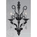 Decorative Black Glass Hanging Pendant Lamp