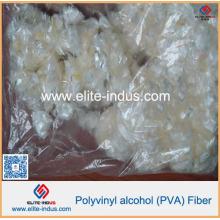 Fibra solúvel em água composta de PVA dos compostos do cimento