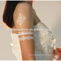 2016 new fashion temporary metal tattoo sticker for hair and body