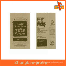 gravure printing customizable moisture proof foods packaging paper bag