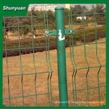 Cheap galvanized/pvc coated welded wire mesh fence for rabbit cage