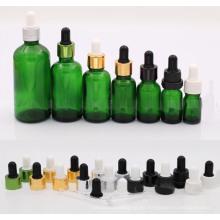 Botella cuentagotas color verde 30ml (NBG04)