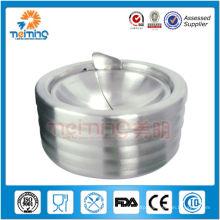 Ashtray with lid/steel ashtray/portable ashtray