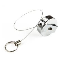 Cheap Designer metal ID decorative yoyo small retractable badge reel
