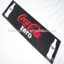 branded sodas bar mat, bar counter mats
