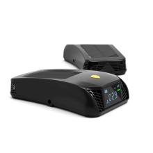 Korea Auto Solar Powered Mini USB Car purifier with HEPA