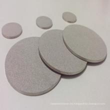La placa fluidizada sinterizada de la malla del filtro sinterizado de la malla de alambre de Sintel hastelloy poroso