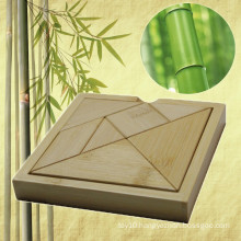 Bamboo Tangram Jigsaw Puzzle for Promotional Gift