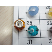 Wholesale semi precious stone big hole beads