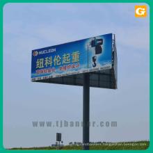 Advertising outdoor banner billboard sign