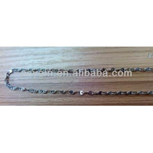 316L Stainless steel metal nickel and lead free chain