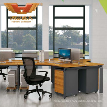 New Modular Partition 4 Person Work Bench Office Workstation (H50-0206)