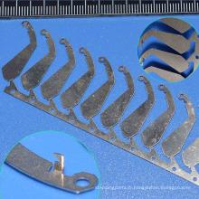 Appareil électronique de poinçonnage de moule SKD11 formant la matrice d'estampage