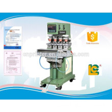 Large-Size 4 -Color semi-automatic ink well egg Printing Machine with Shutte