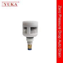 Válvula de drenaje para compresor de aire