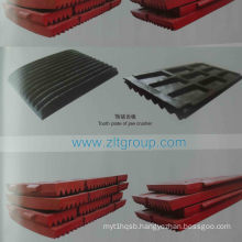 Tooth Plate of Jaw Crusher