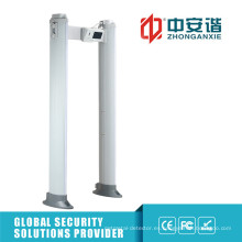 Pantalla táctil 100 nivel de seguridad detector de metales arco impermeable