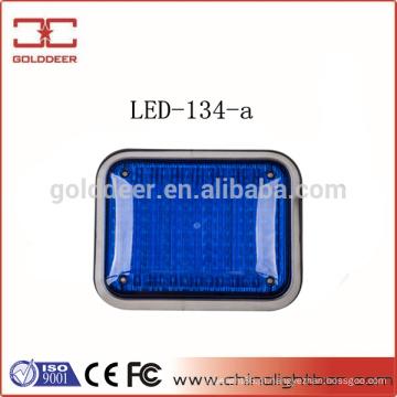 Aviso de lâmpada LED de sinal de superfície monte azul de luz (LED-134-a)