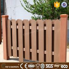Natural feeling WPC composite bording balcony fencing