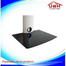 Estante de DVD de aluminio blanco de alto grado del DVD