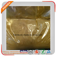 Particle Size Uniform Metallic Epoxy Gold Yellow Paint Powder Coating