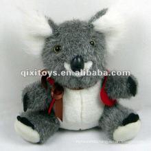 lovely soft mini koala bear plush toys with bow