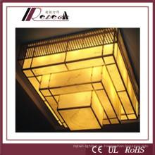 Materiales de Resina Hotel Lobby Lámpara Colgante para Hotel Proyecto