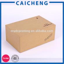Handmade Rechteck Kraftpapier Geschenkbox für Elektronik