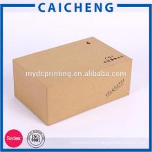 Hot sale high-end handmade rectangle kraft gift box for electronics