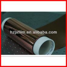 Filme de cor de cobre