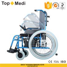 Topmedi Medical Equipment faltbarer elektrischer Aluminiumrollstuhl