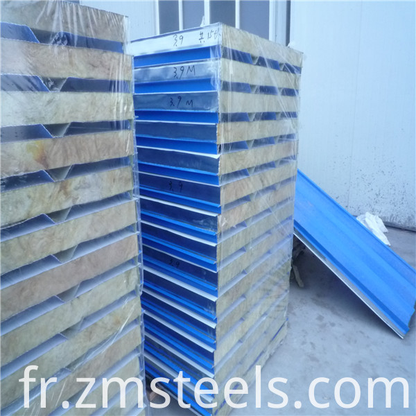 50mm rock wool sandwich panel