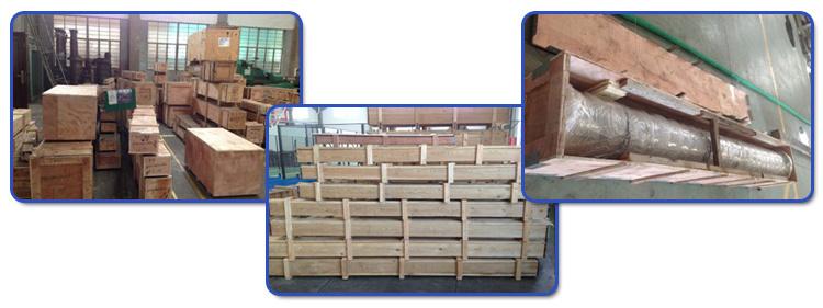 PE film blowing screw barrel / screw and barrel for PVC foam core pipes plastic & rubber machinery parts