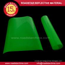 Hot iron luminescent film for garment