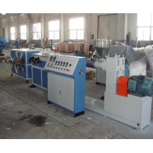 Plastic PE/PP Single Wall Corrugated Pipe Extruder Machinery