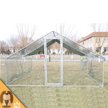 Large Galvanized Metal Chicken Kennel