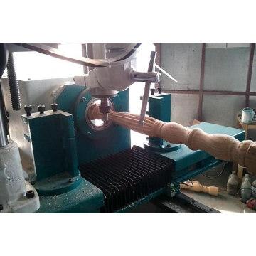 Distancia máxima de movimiento del eje Z: Torno de carpintería CNC de 1520 mm