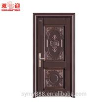 Porte en acier inoxydable pour porte d'entrée