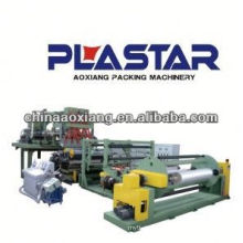 stretch Single layer co-extrusion stretch cling extruded parts soft pvc film extruder machine shrink cling film wrap