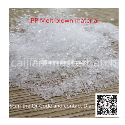 PPMeltblown Fabric Mask Interlayer Masterbatch Extruder Line