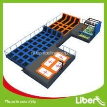 indoor grote gymnastiek professionele trampolinemat