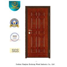 Porte de sécurité en acier de style classique pour MID East (y-1002)