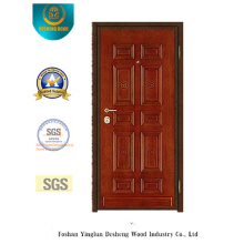 Classic Style Steel Security Door for MID East (y-1002)