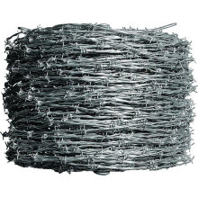 Hot Dipped Galvanized/Electro Galvanized /PVC Coated Barbed Wire with Bwg 12/14/16