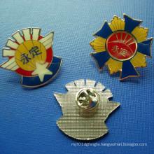 Custom Glue Metal Emblem, Epoxy-Dripping Badge (GZHY-BADGE-029)