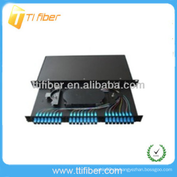 24 Port 19 'Rack Mount Sliding Patch Panel (Fiber Optic Box)
