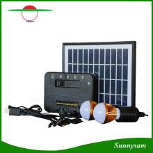 Mini système solaire haute qualité 4W avec chargeur mobile